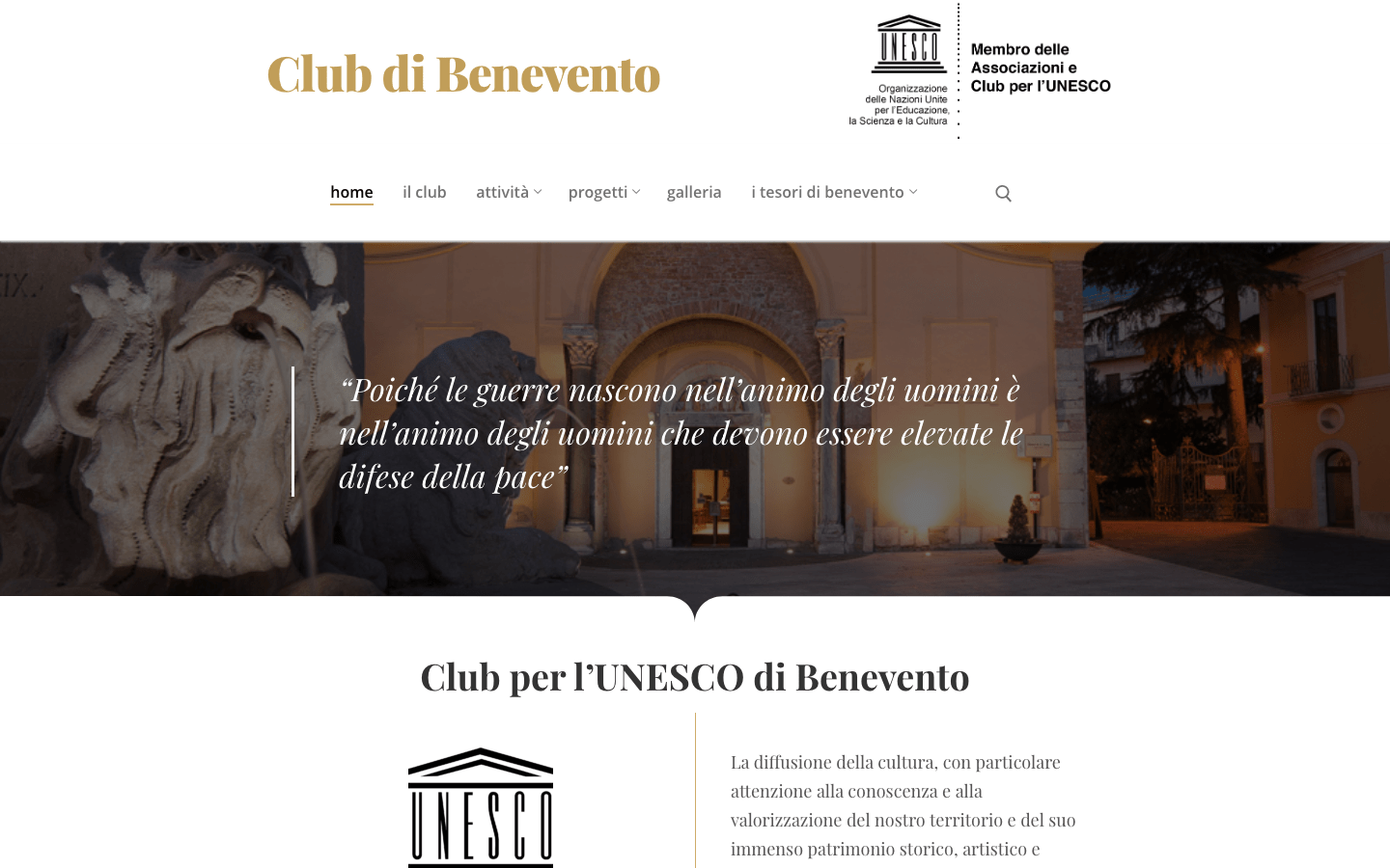 Club Unesco Benevento